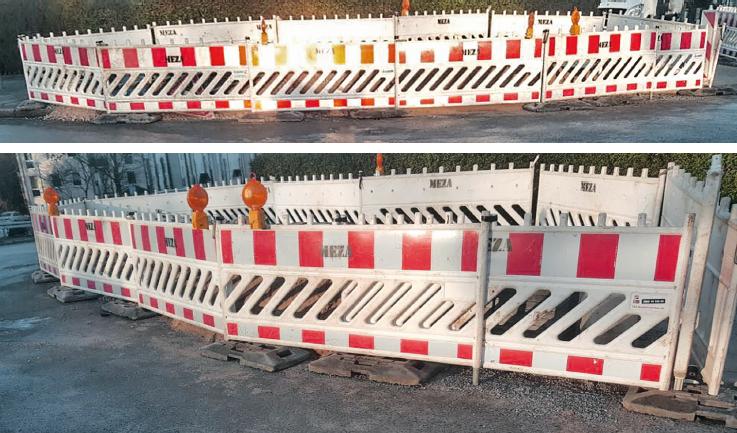 Baustellensicherheit, MEZA Leitungsbau GmbH